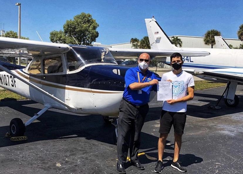 Лицензия частного пилота