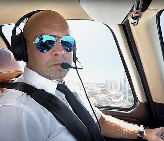 Один день из жизни пилота